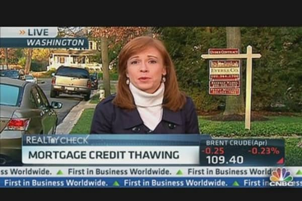 Mortgage Credit Show Signs of Thawing