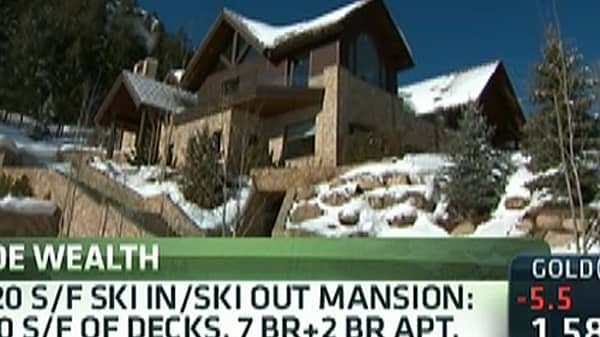 For Sale: Monster Ski Mansions Virtual Tour