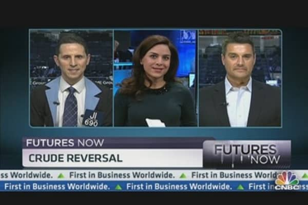 Futures Now: Crude Reversal