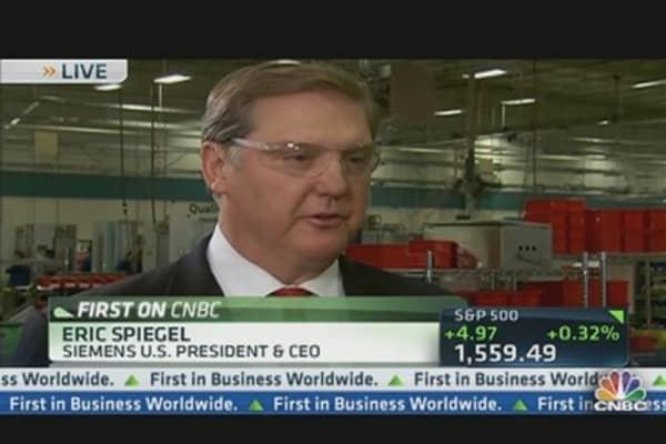 Siemens CEO on US Economic Outlook