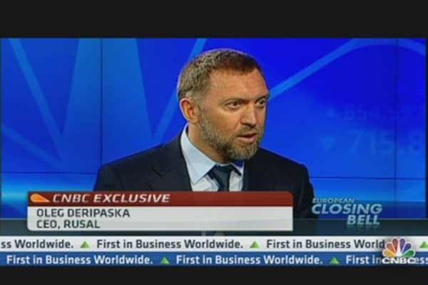 Rusal CEO: Governments Should Promote Growth