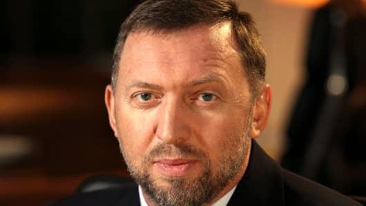 Oleg Deripaska, chief executive officer of United Co. Rusal