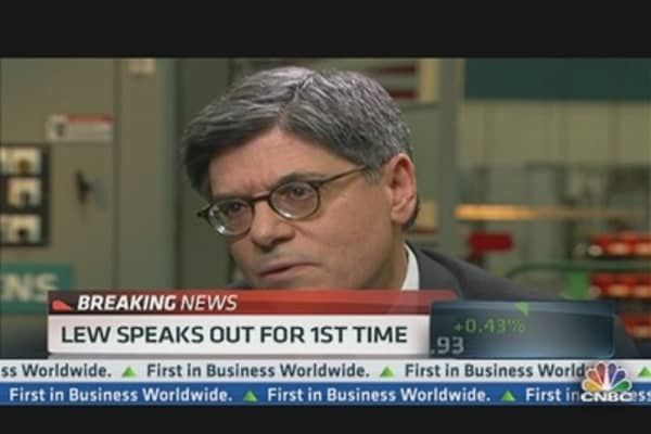 Lew Speaks Out on China & Sequester