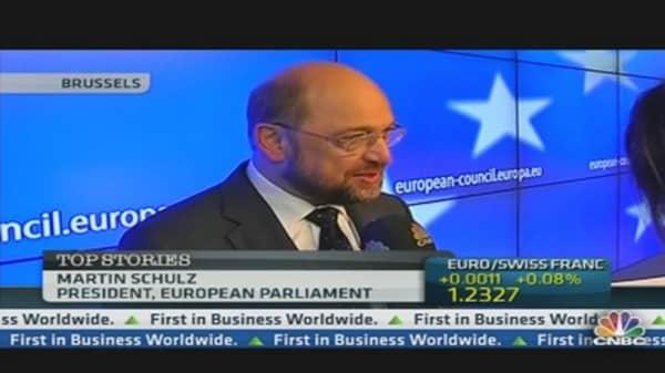 EU Austerity Policy Not Enough: EU Parliament Chief