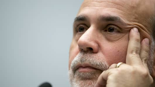 Ben Bernanke, chairman of the U.S. Federal Reserve.