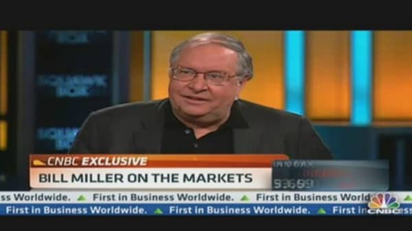 Bill Miller: 'A Lot More to Go' for Stock Rally