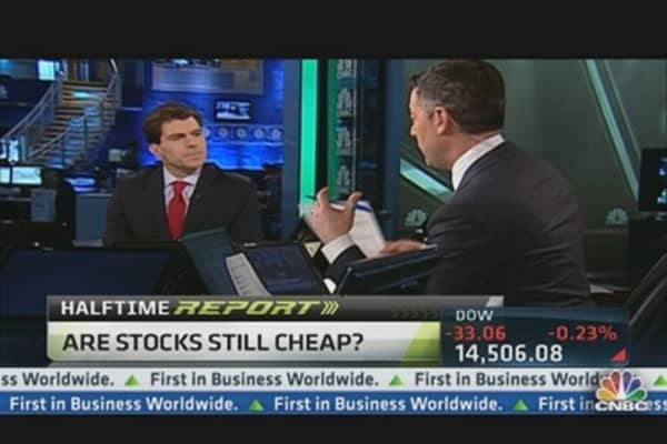 Stock Valuations Not a Factor: Mike Santoli