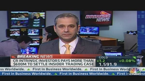 CR Intrinsic Investors Pays $600M to Settle Insider Trading Case