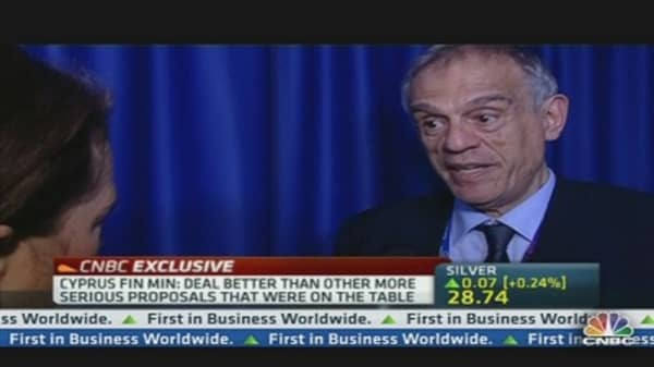 Cyprus Finance Minister: Levy Was Best Available Outcome