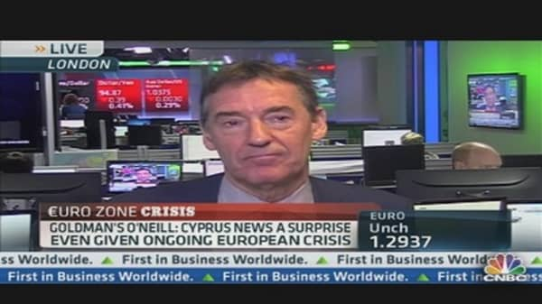 Cyprus Bailout Proposal 'Unprecedented': O'Neill