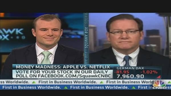 Money Madness: Netflix vs. Apple