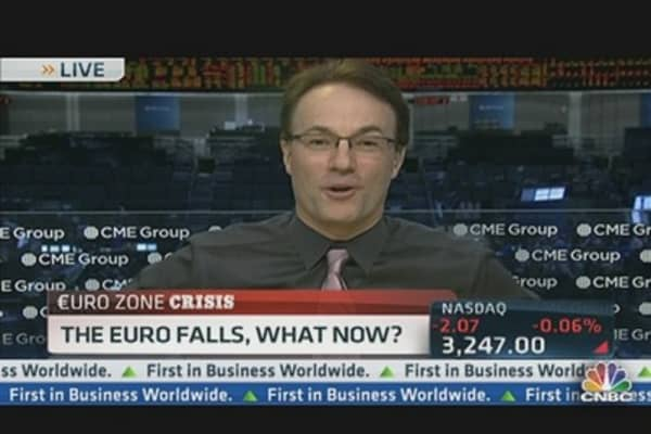 The Euro Falls, What Now?
