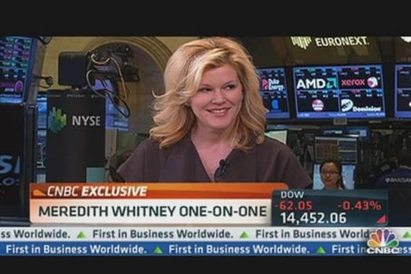 Meredith Whitney on BofA, Cyprus