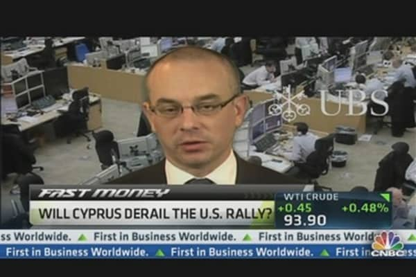 Where the Cyprus Danger Lies: UBS Analyst