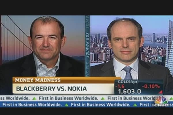 Money Madness: BlackBerry vs. Nokia