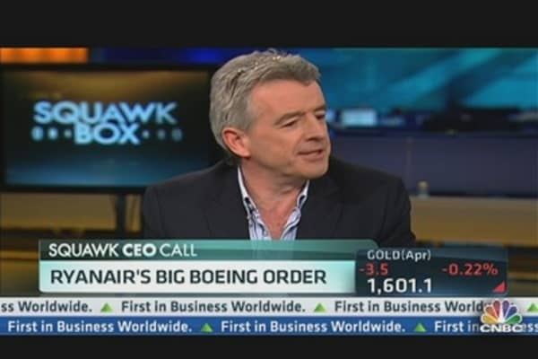 RyanAir's CEO on Big Boeing Order