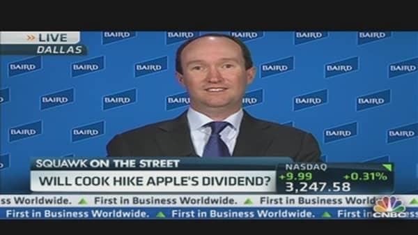 Apple Dividends: Now and Then