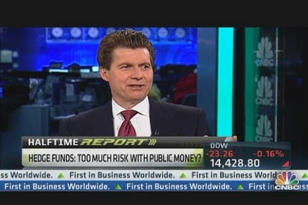Are Hedge Funds Risking Public's Pension Money?