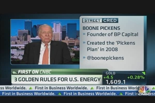 3 Golden Rules For US Energy: Pickens