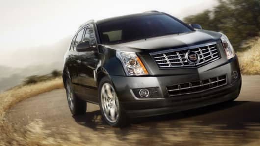 GM 2013 Cadillac SRX Luxury Crossover