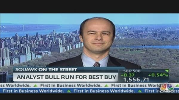 Another Bullish Call on Best Buy
