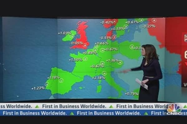 Europe Stocks Close Higher