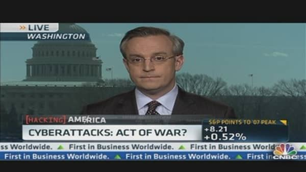 Cyberattacks: Act of War?