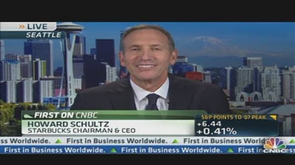 Starbucks CEO: Leading Retailer of Mobile Payment Transactions