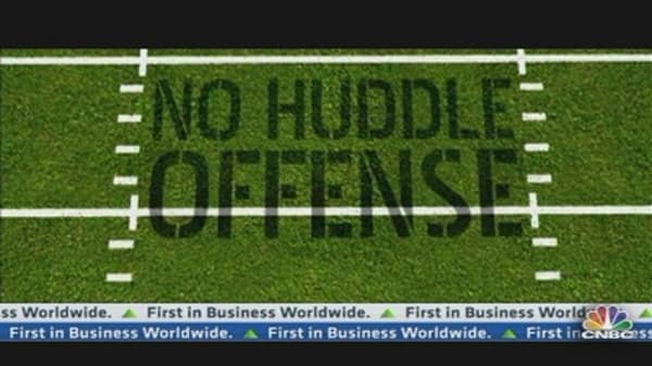 No Huddle Offense: Food for Thought?