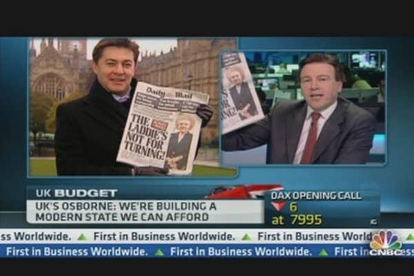 The Iron Lad? Osborne Turned Into Thatcher