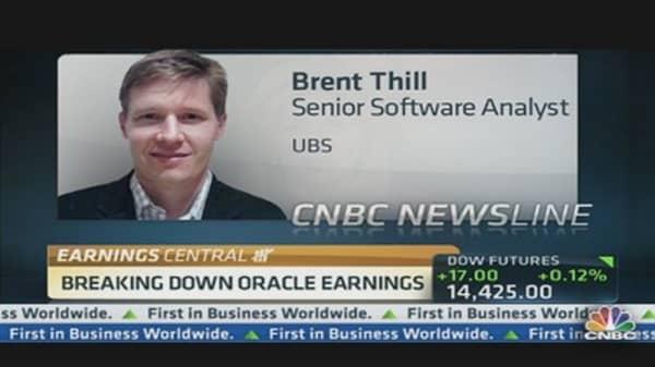 Breaking Down Oracle Earnings: Analyst