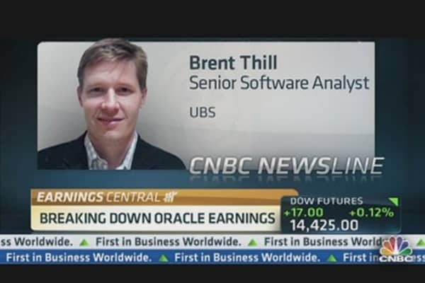 Breaking Down Oracle Earnings: Analyst