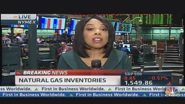 Natural Gas Inventories Down 62 BCF