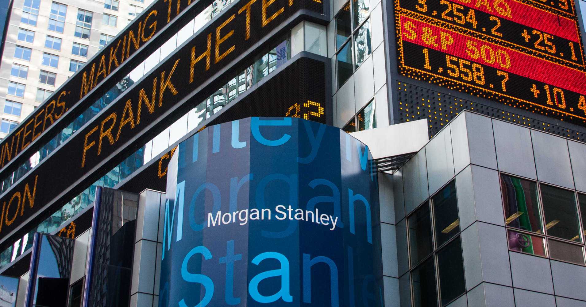 morgan stanley report In early august, reuters reported that blackstone was engaging in talks with potential buyers to acquire its 45% stake in leica sources had said at the time that blackstone was working with an investment bank, though that bank wasn't named, and that it had already discussed the potential business.