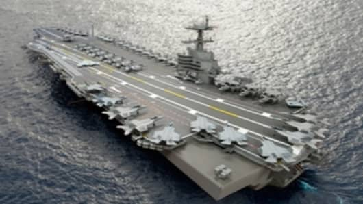 John F. Kennedy aircraft carrier