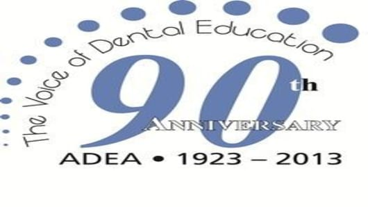 ADEA 90th Anniversary logo