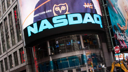 The Nasdaq HQ in Times Square