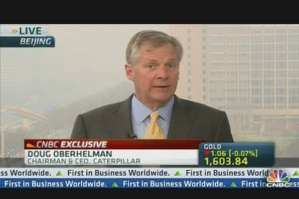 Caterpillar CEO Weighs In On Cyprus