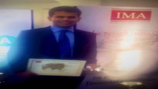 Sujit Sircar won the IMA CFO of the Year Award