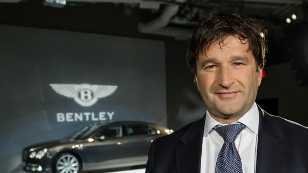Christophe Georges, President & COO, Bentley Motors
