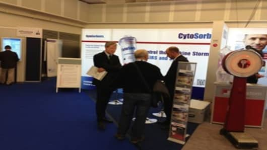 CytoSorbents Booth