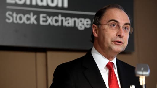 Xavier Rolet, the Chief Executive of the London Stock Exchange