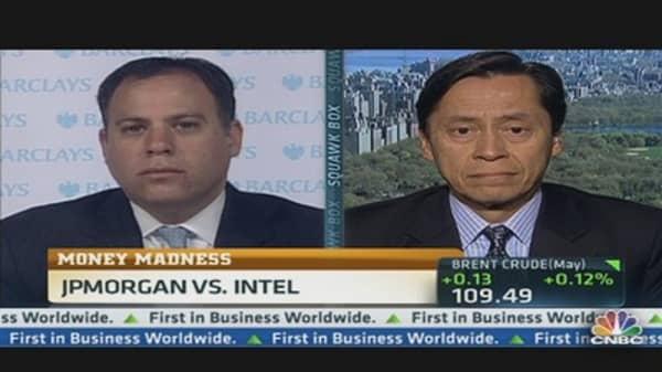 March Stock Mania: JPM vs. INTC