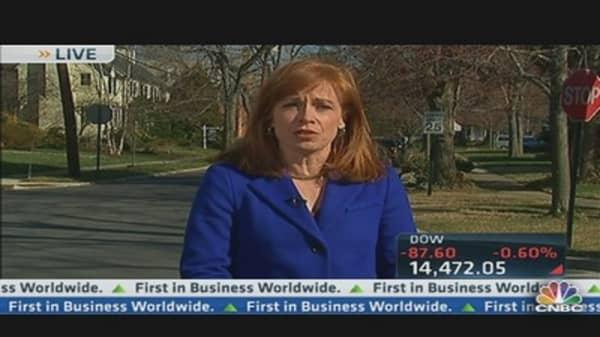 Pending Home Sales Down