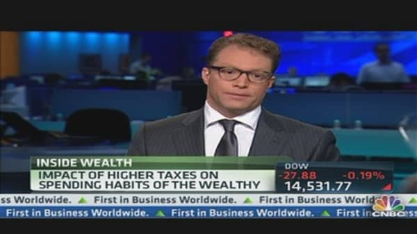 Higher Taxes & the Wealthy's Spending
