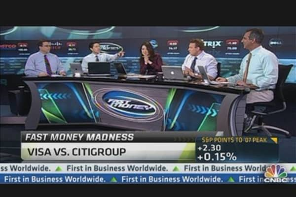 FM Madness: Visa vs. Citigroup