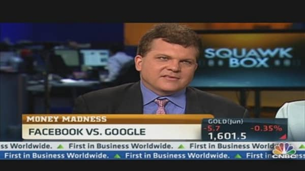 Money Madness Emerging 8: Facebook vs. Google