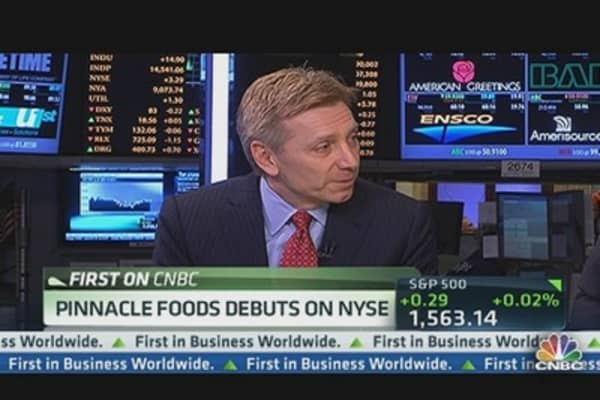 Pinnacle Foods Debuts on NYSE