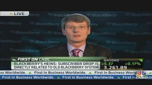 BlackBerry CEO on Earnings Beat