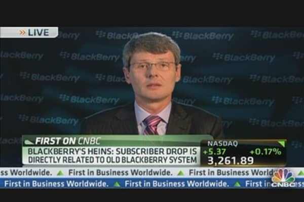 BlackBerry CEO on Earnings Beat